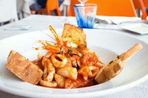 Brodetto raggiazzurro ristorante di pesce senigallia