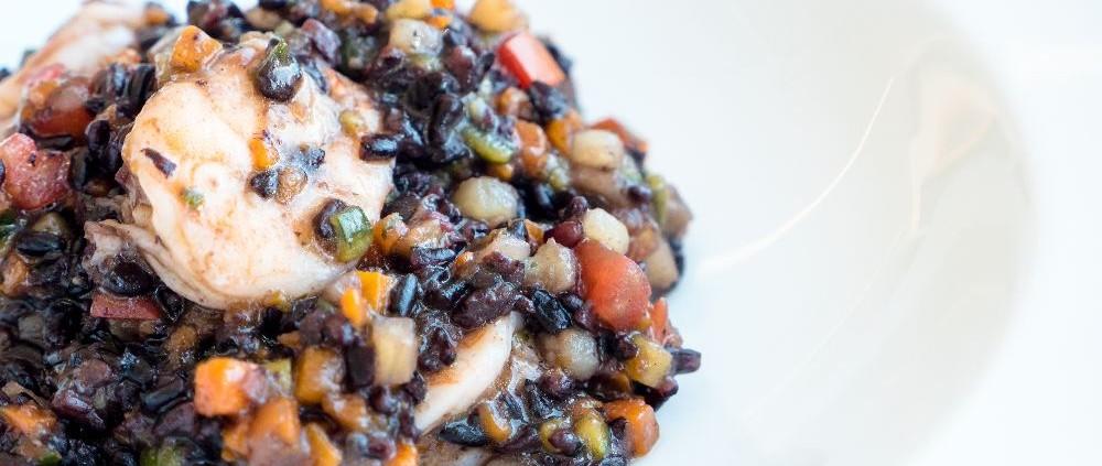 raggiazzurro risotto di pesce