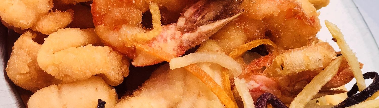 Frittura di pesce raggiazzurro